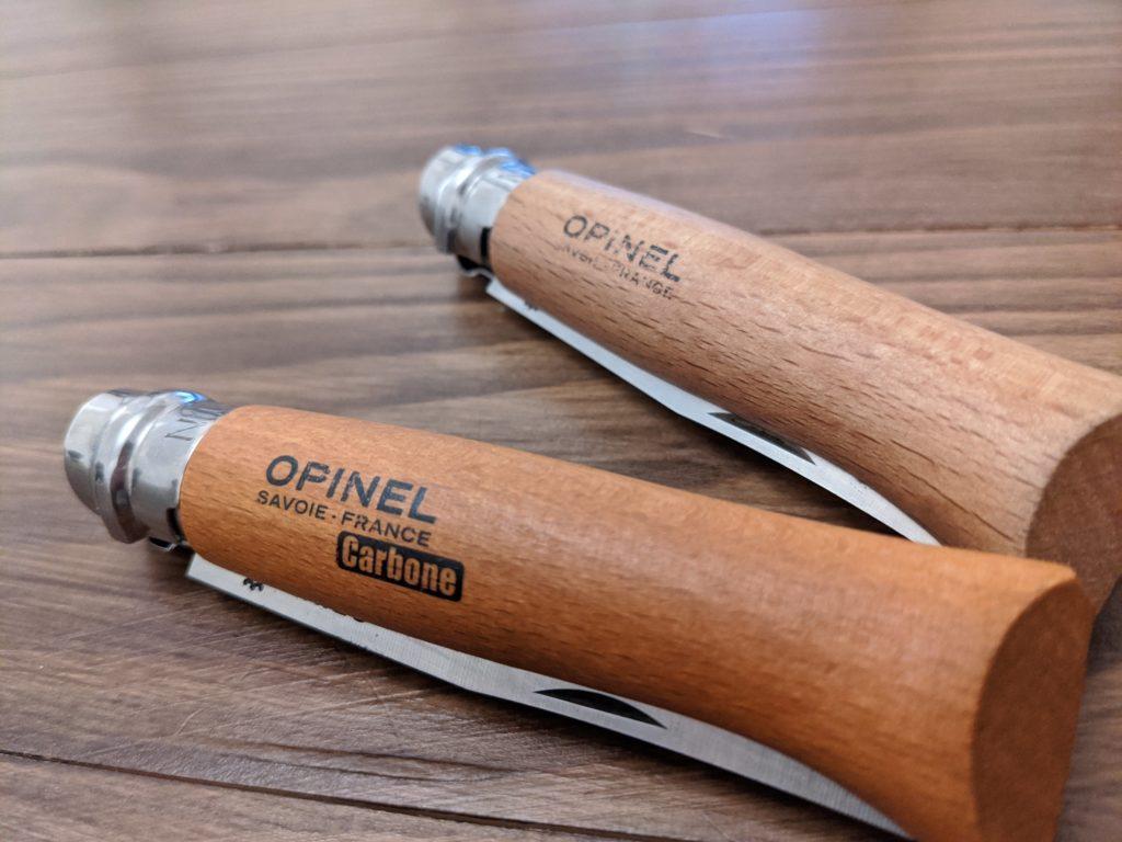 オピネル (OPINEL)ナイフは味がある!アウトドア用に長く使うにはおすすめ!実際使っているレビュー&思うこと
